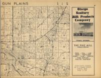 Gun Plains T1N-R11W, Allegan County 1954